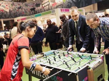 Live bei Heikorn – Schlag die Tischfussball-Weltmeisterin Lilly Andres